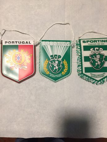 Galhardetes SCP...FCP..Portugal .