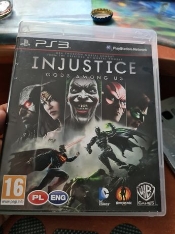 Ps3 Injustice Gods Among US po polsku PlayStation 3 igła