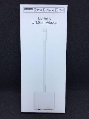 Adaptador duo para iPhone 7/7Plus - auricular e lightning (2 em 1)