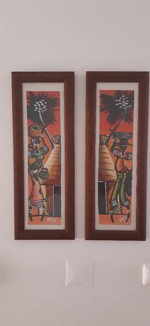 Serigrafias africanas
