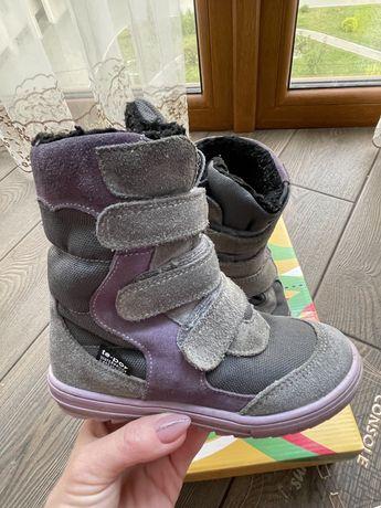 Зимние ортопедические ботинки для девочки Mido Noster