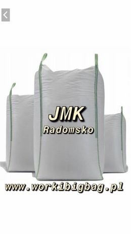 Worki Big Bag Bagi 90/100/140 z klapa 1250kg BIGBAG Hurt i Detal
