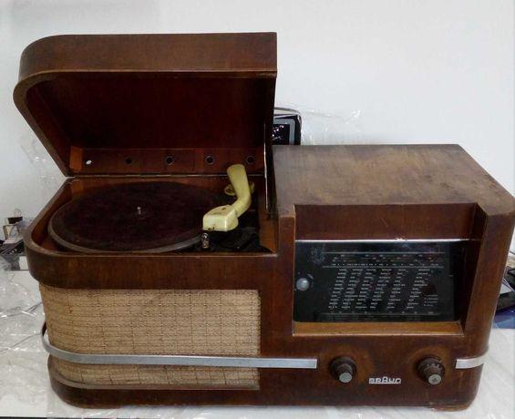 radio BRAUN zabytkowe