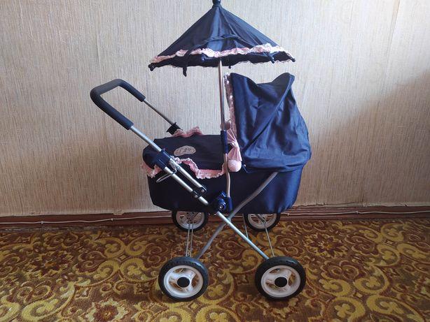 Детская коляска для кукол зонтик