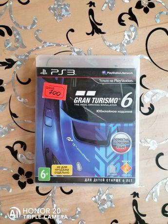 Gran Turismo 6 Юбилейное издание PlayStation 3