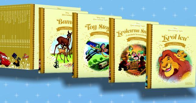 Książki Złota kolekcja Disneya 122 szt.
