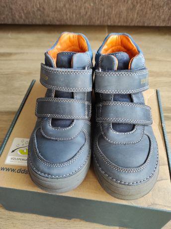 Демісезонні шкіряні черевики DD STEP