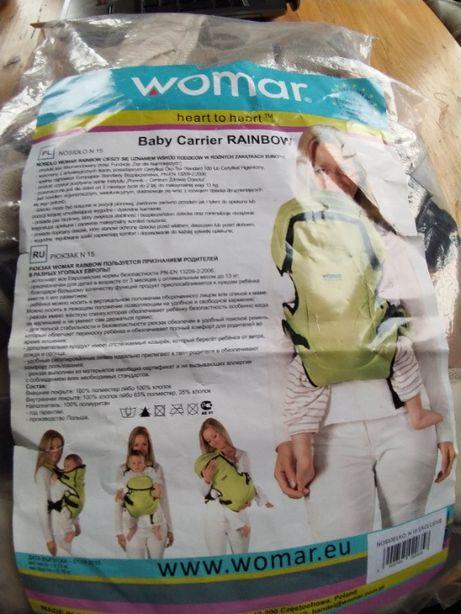 Продам рюкзак-кенгуру Womar Rainbow