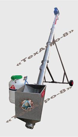 Шнековый погрузчик, протравитель семян ЗПШ-6-01 (протруювач насіння)