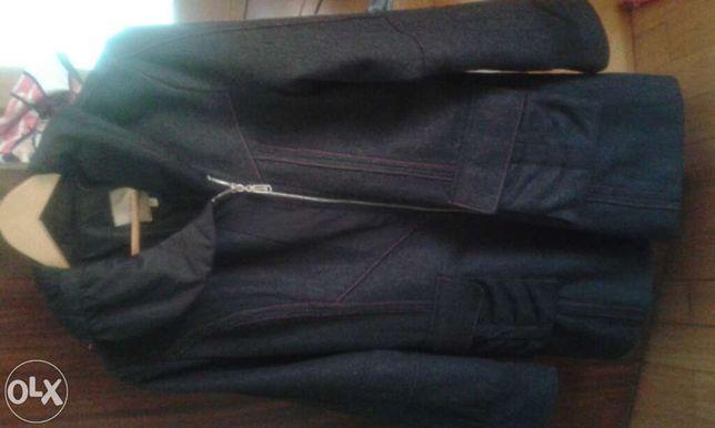 casaco cinza escuro marca alexo