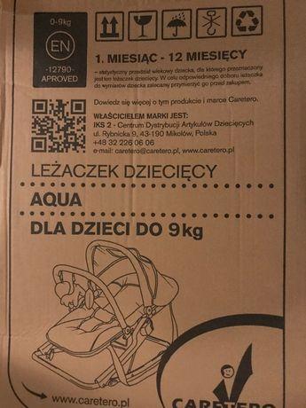 Leżaczek dziecięcy Aqua caretero
