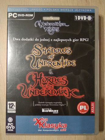 Gra Neverwinter Nights: Shadows of Undrentide & Hordes of the Underdar
