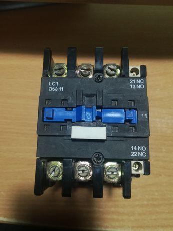 Контактор. Пускатель магнитный. LC1-D50 11 Катушка 380 вольт.