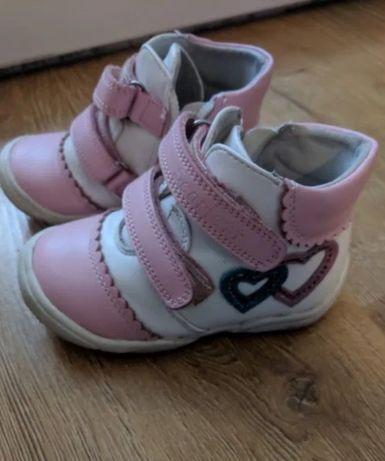 Ботинки демисезонные на девочку, черевики демісезонні на дівчинку