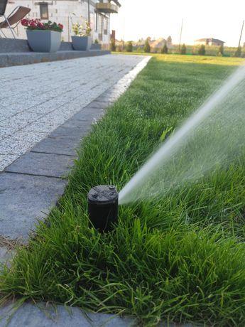Zakładanie i projektowanie ogrodów nawadnianie Wykopy liniowe