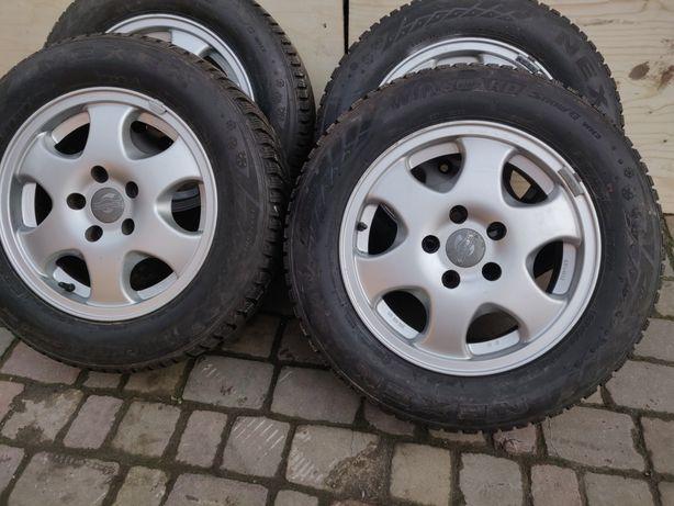 Диски 5 112 VW caddy, Passat, Touran, golf, Skoda octavia 195 65 15