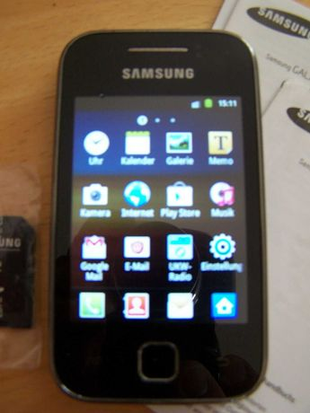 Telemóvel Samsung Galaxy desbloqueado