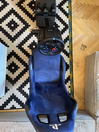 Playseat Evolution playstation  + Logitech G29 PS4/PS5/PC