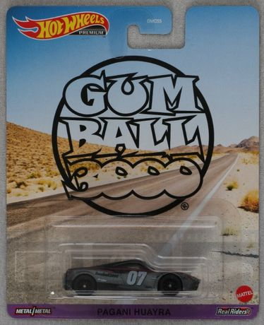 Hot Wheels Premium Pagani Huayra GumBall 3000 1:64