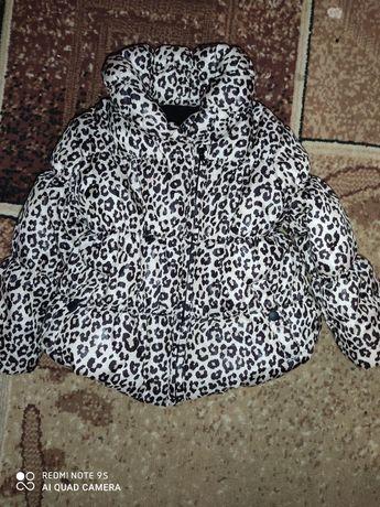 Тепла осіння куртка для дівчинки 1-2роки