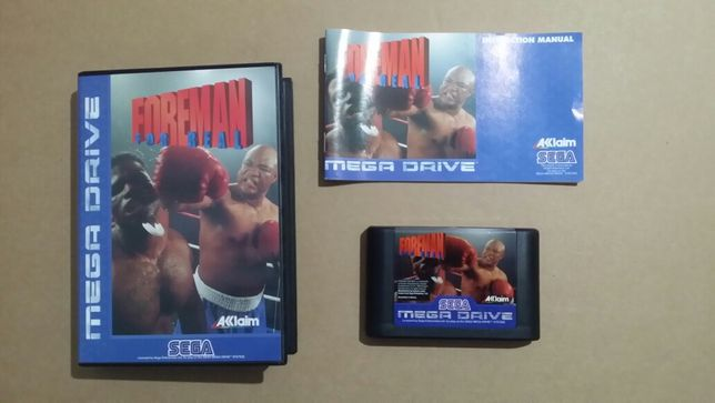 Jogo Megadrive George Foreman for Real
