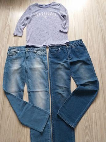 Zestaw 2 pary spodni+ lekki sweterek
