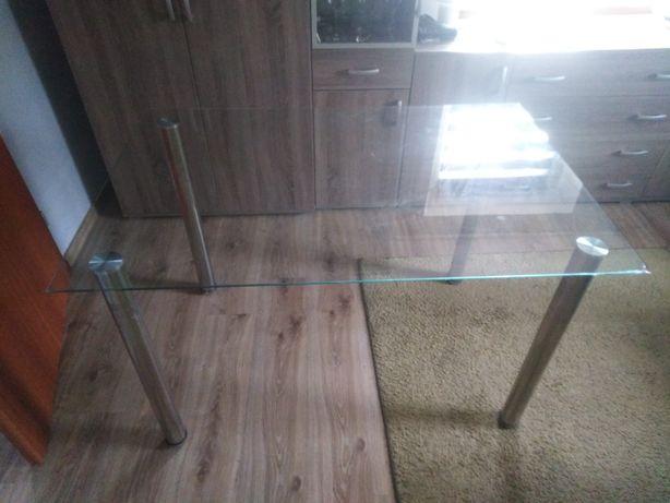 Stół szklany 120/80