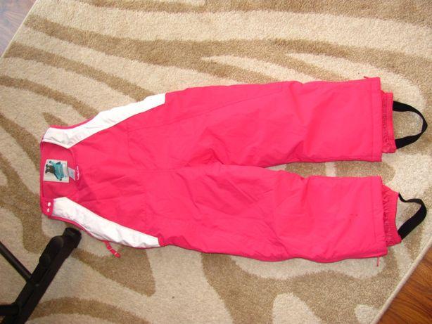 Wedze r 98 spodnie zimowe narciarskie ogrodniczki spodniei