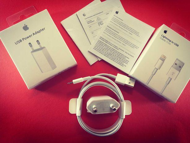 Кабель для зарядки iPhone iPad Lightning to USB Комплект 2 в 1