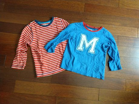 Bluzki od piżamy 98/104 2 szt.