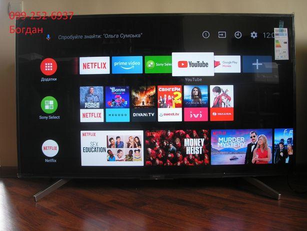 Телевізор Smart,Android,4K Sony KD-55ХF7596 новий