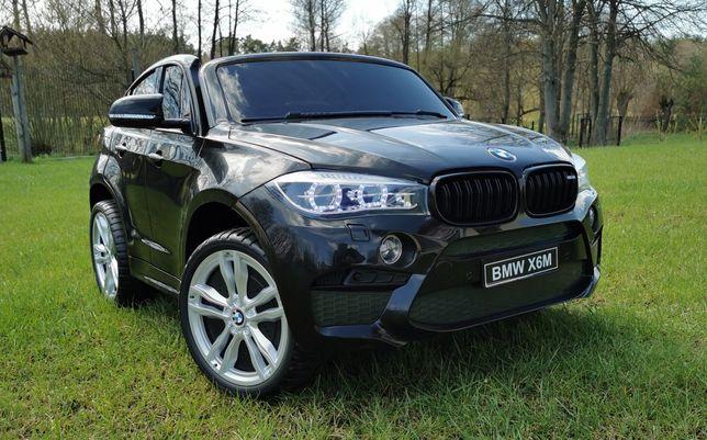 Auto na Akumulator BMW X6 M Ogromne Dwuosobowe 2 x 120W