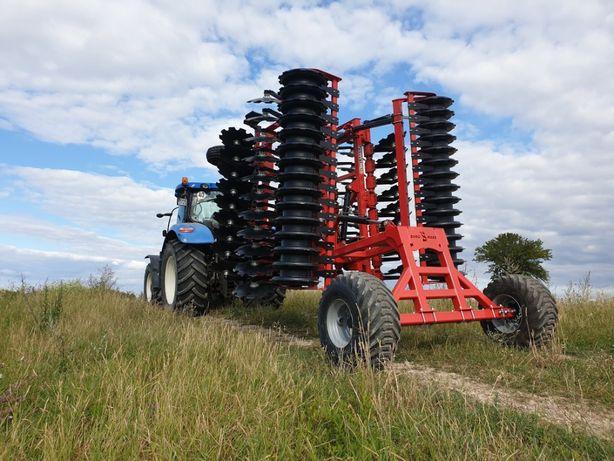 Euro-Masz CIĘŻKA Brona Talerzowa 4m 4,5m 5m 5,5m 6m Agro-Lift LandStal