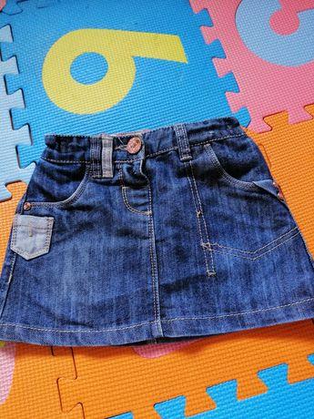 Spódnica jeansowa NEXT r. 86