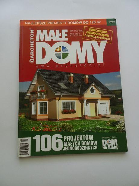 Katalog projektowy- Małe domy.