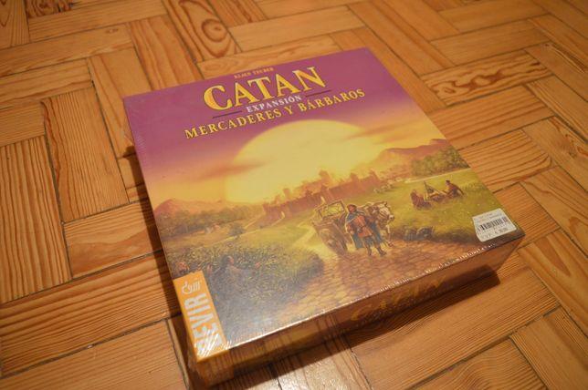 Jogo CATAN - NOVO - expansão Mercadores e Bárbaros
