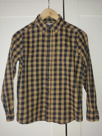 Bluzka koszula t-shirt koszulka kratka r.134/140