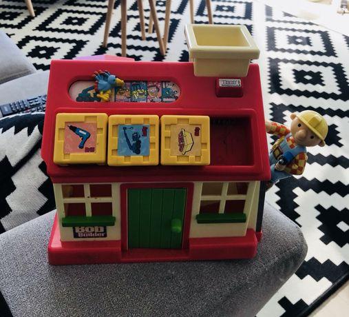 Super domek edukacyjny z klockami Bob Budowniczy dla dzieci