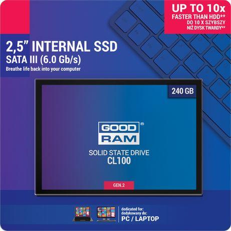 Dysk SSD GOODRAM CL100 G2 240GB Sata3 Eltrox Rzeszów