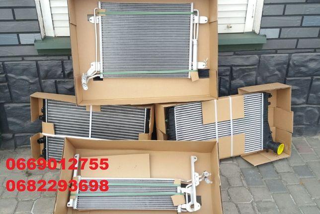 Радиатор охлаждения интеркулер кондиционер телевизор VW TIGUAN 07-16