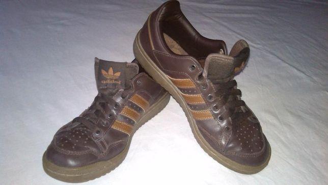 Кожаные кроссовки Adidas р.38(оригинал)