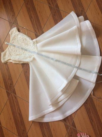 Sukienka na wesele Rozm 34 ecru