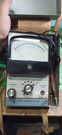 Мегаомметр Е6 16