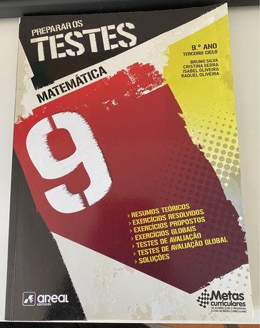 "Manual ""Preparar os TESTES"" - Matemátics 9º ano"