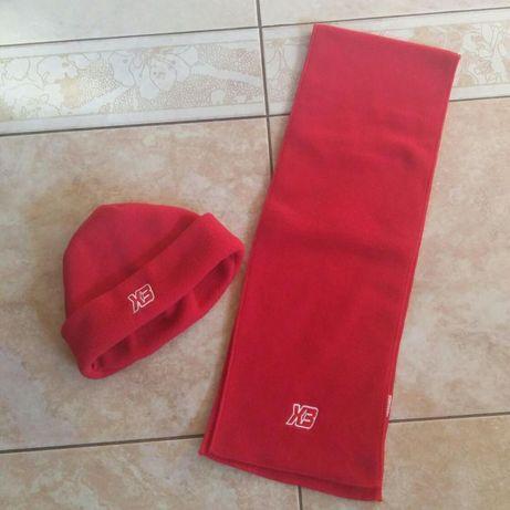 Komplecik czapka i szalik