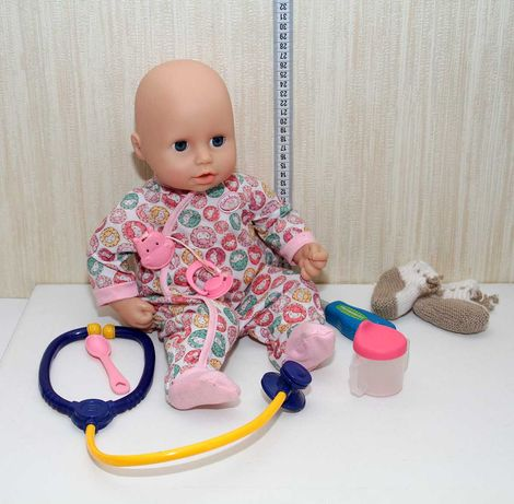 Анабель кукла пупс интерактивная вылечи доктор болеет zapf  creation