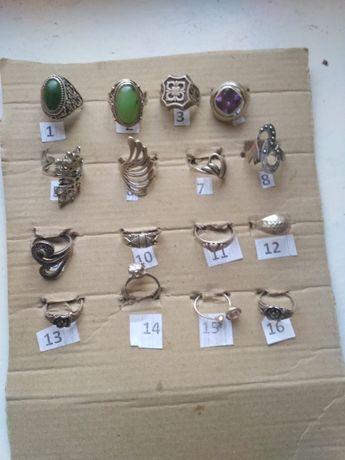 Советский комплект кольцо перстень серебряное аметист нефрит цирконий