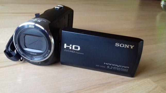 Видеокамера для блогера для семьи на флешку FullHd Sony HDR-CX240
