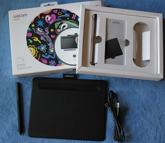 Tablet graficzny Wacom Intuos Small Czarny / CTL-4100/K-N