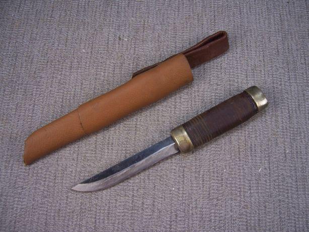 Finka Nóż Myśliwski ręcznie wykonany z pochwą Oryginał